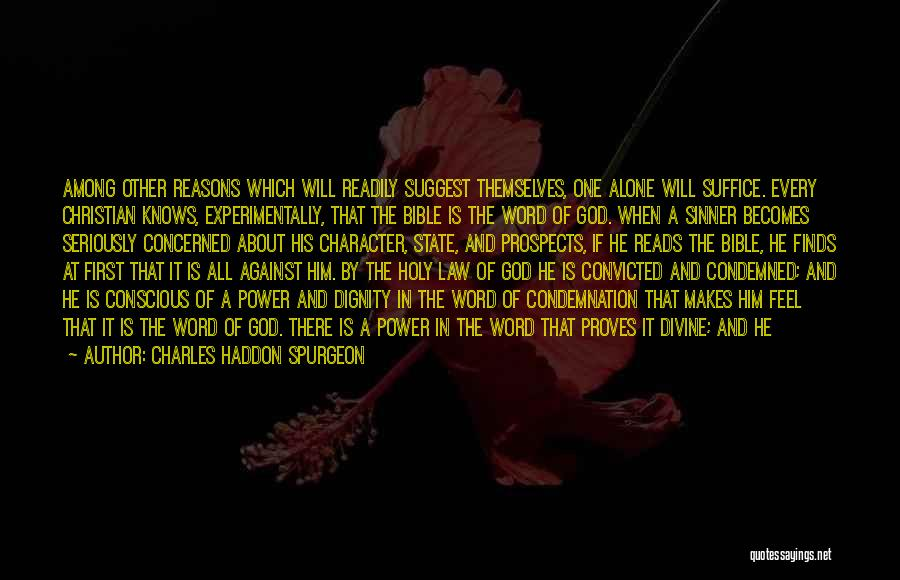 Self Doubt Bible Quotes By Charles Haddon Spurgeon
