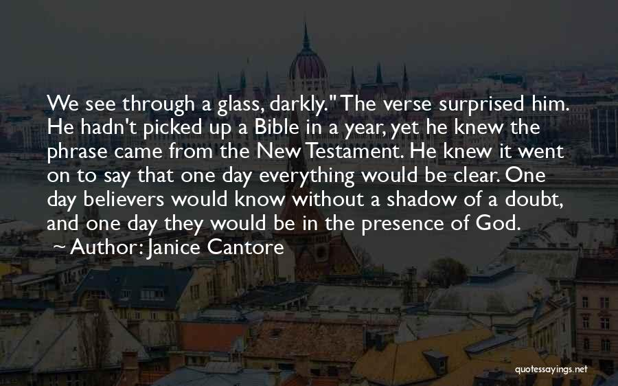 Self Doubt Bible Quotes By Janice Cantore