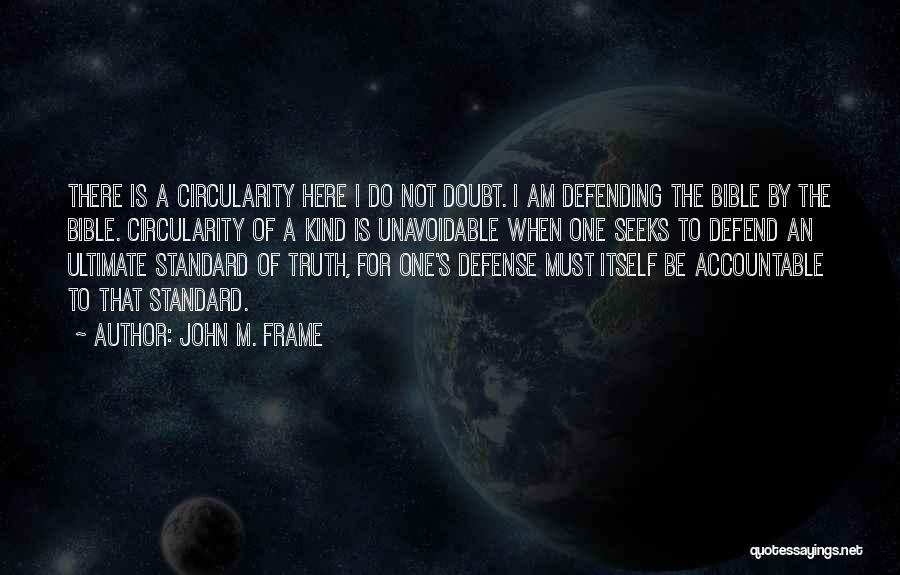 Self Doubt Bible Quotes By John M. Frame