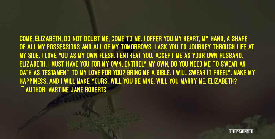 Self Doubt Bible Quotes By Martine Jane Roberts