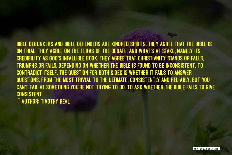 Self Doubt Bible Quotes By Timothy Beal
