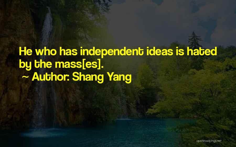 Self Es Quotes By Shang Yang