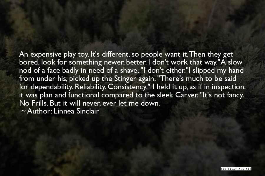 Self Inspection Quotes By Linnea Sinclair