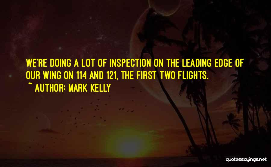 Self Inspection Quotes By Mark Kelly