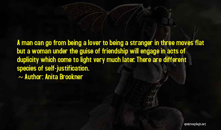 Self Justification Quotes By Anita Brookner