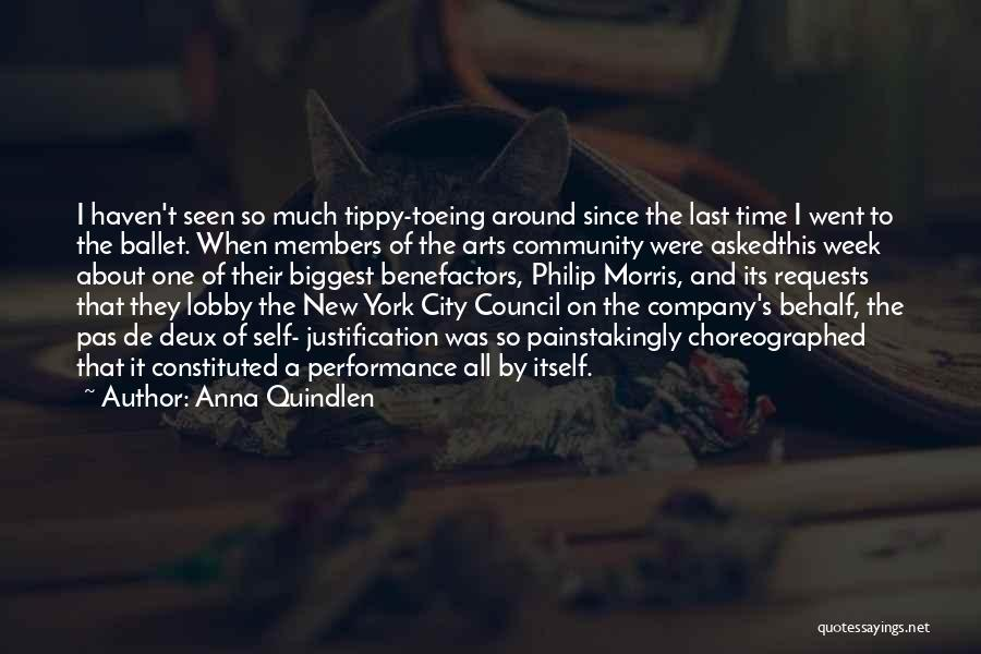 Self Justification Quotes By Anna Quindlen