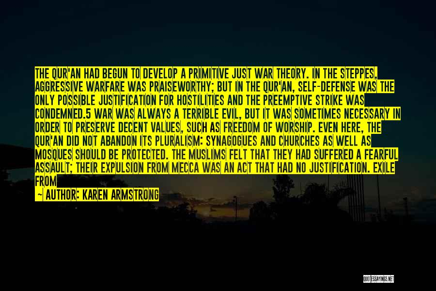 Self Justification Quotes By Karen Armstrong