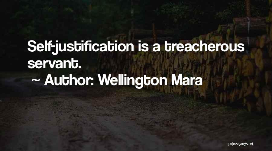 Self Justification Quotes By Wellington Mara