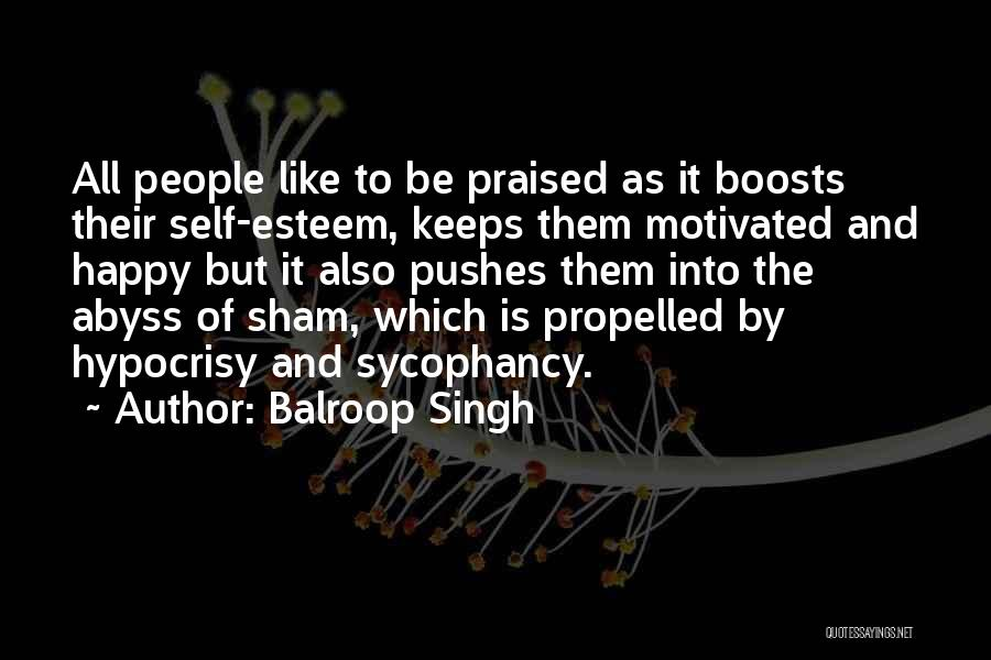 Self Propelled Quotes By Balroop Singh