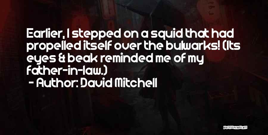 Self Propelled Quotes By David Mitchell