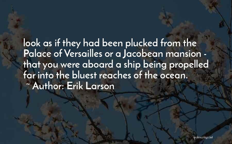 Self Propelled Quotes By Erik Larson