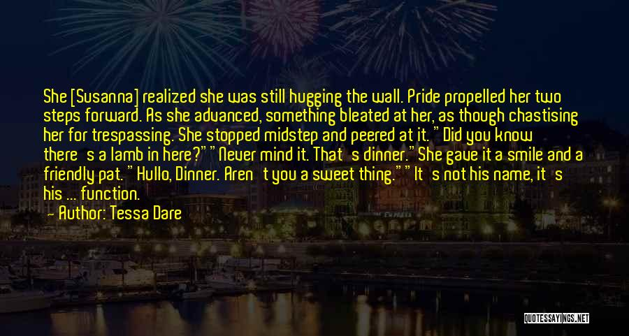 Self Propelled Quotes By Tessa Dare