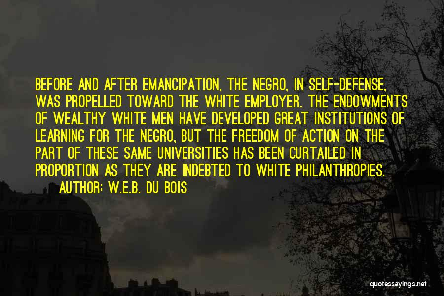 Self Propelled Quotes By W.E.B. Du Bois