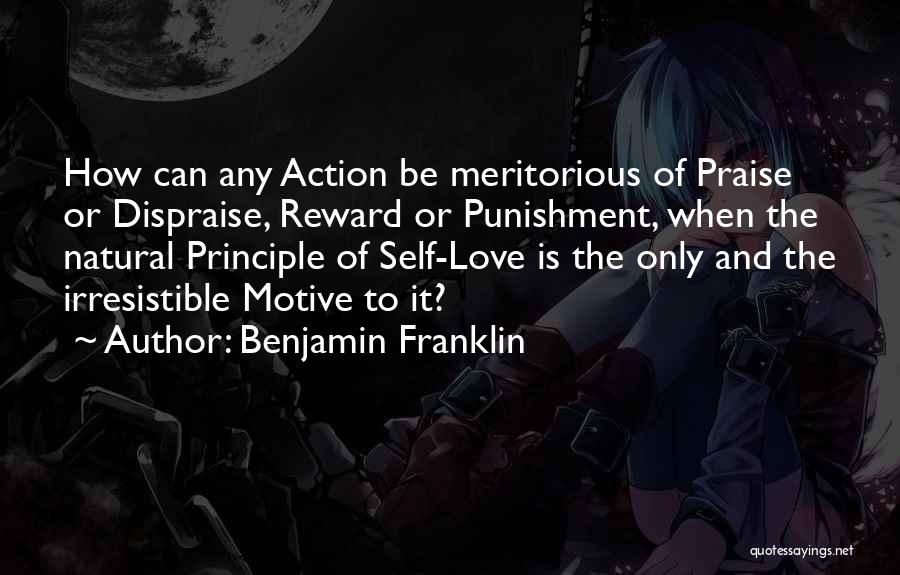 Self Punishment Quotes By Benjamin Franklin