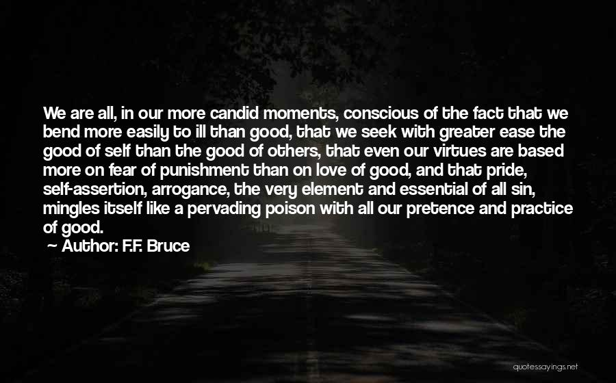 Self Punishment Quotes By F.F. Bruce