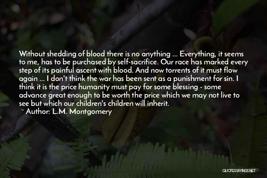 Self Punishment Quotes By L.M. Montgomery