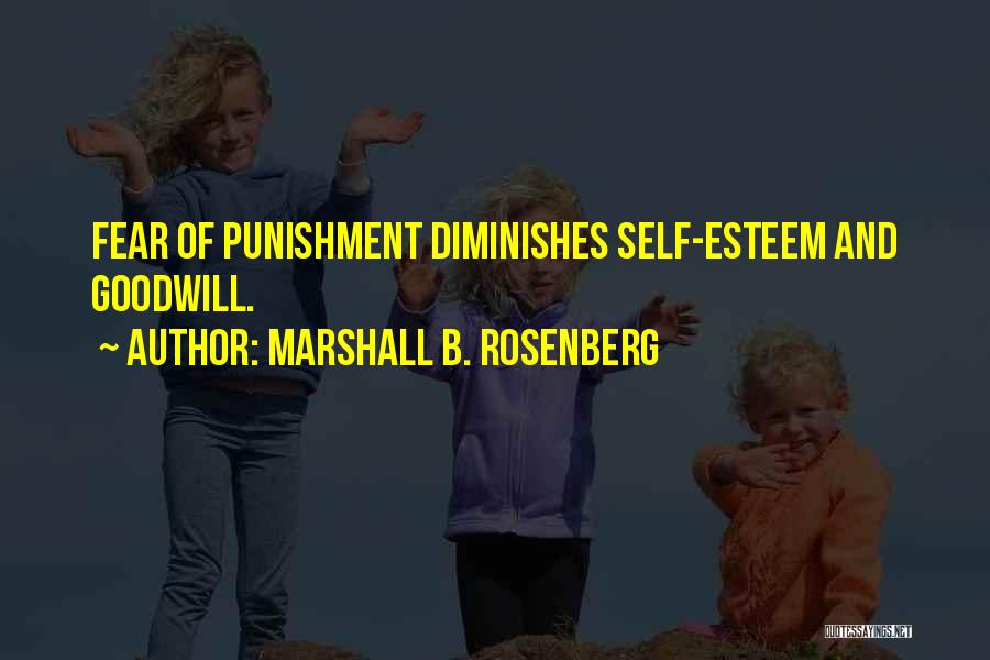 Self Punishment Quotes By Marshall B. Rosenberg