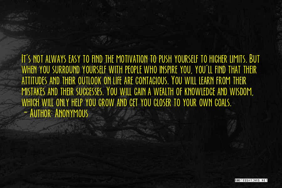 Self Push Quotes By Anonymous