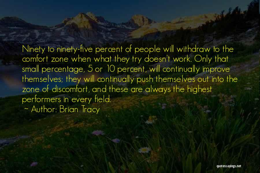 Self Push Quotes By Brian Tracy