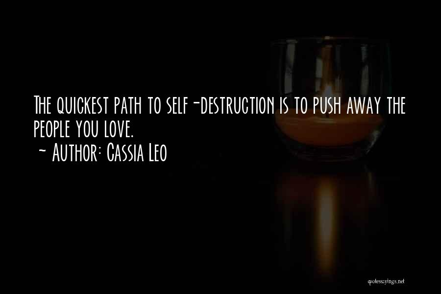 Self Push Quotes By Cassia Leo