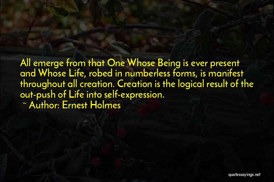 Self Push Quotes By Ernest Holmes