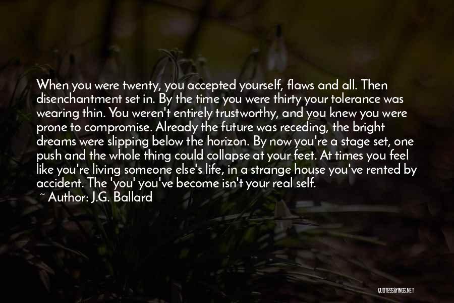 Self Push Quotes By J.G. Ballard