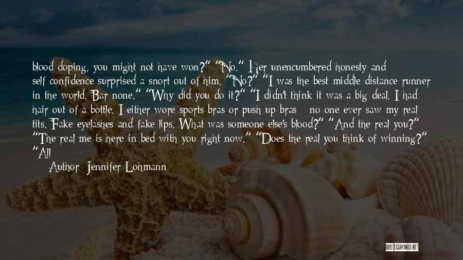 Self Push Quotes By Jennifer Lohmann