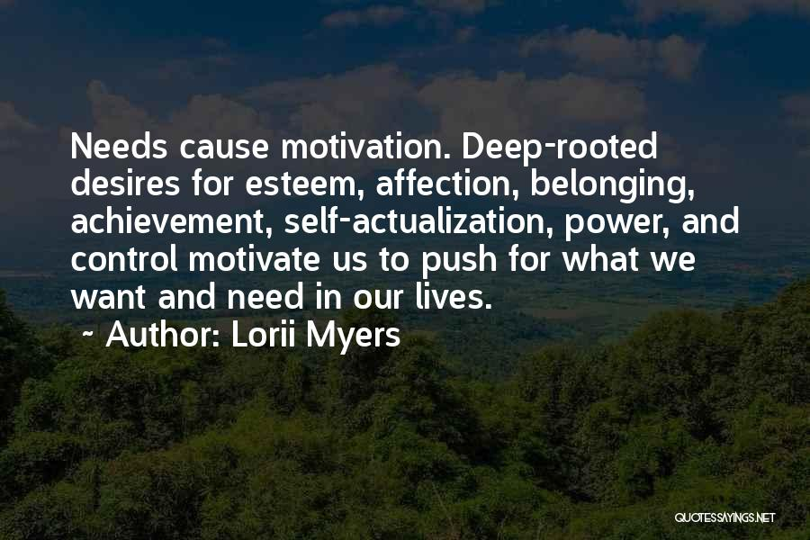 Self Push Quotes By Lorii Myers