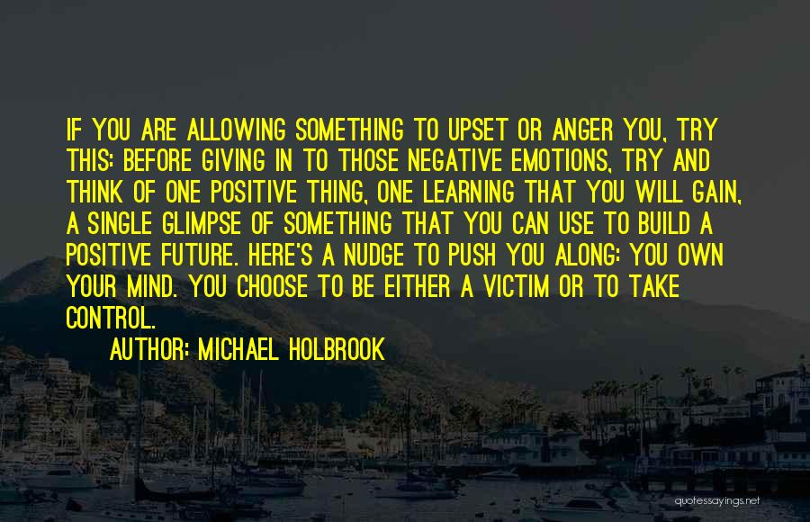 Self Push Quotes By Michael Holbrook