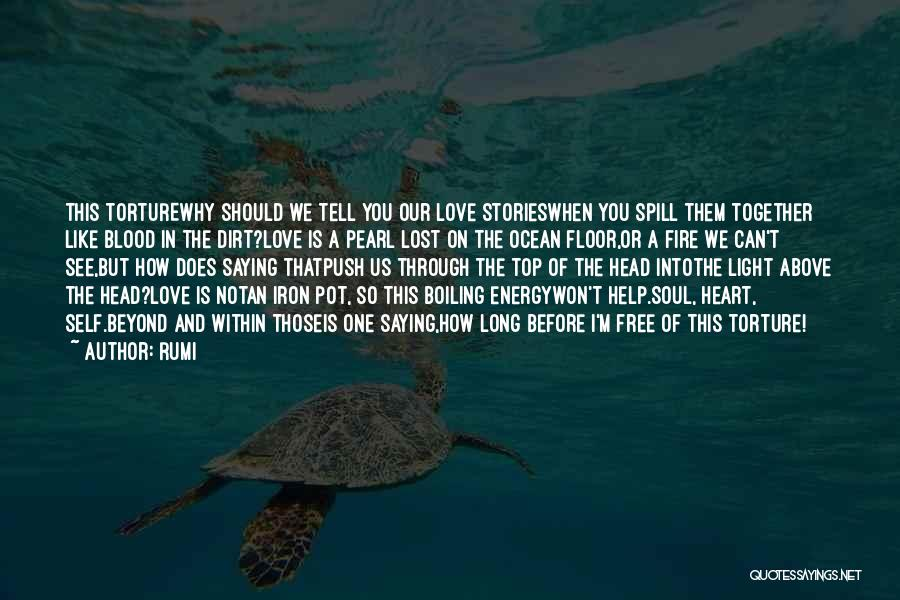 Self Push Quotes By Rumi