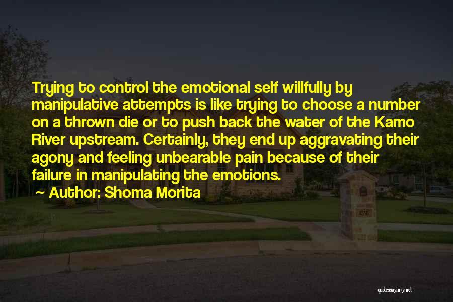 Self Push Quotes By Shoma Morita