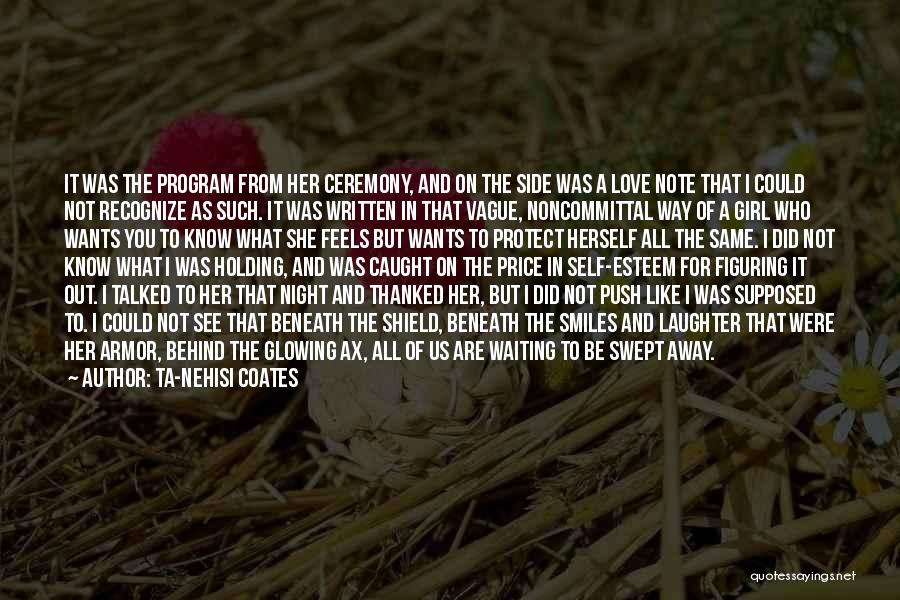 Self Push Quotes By Ta-Nehisi Coates