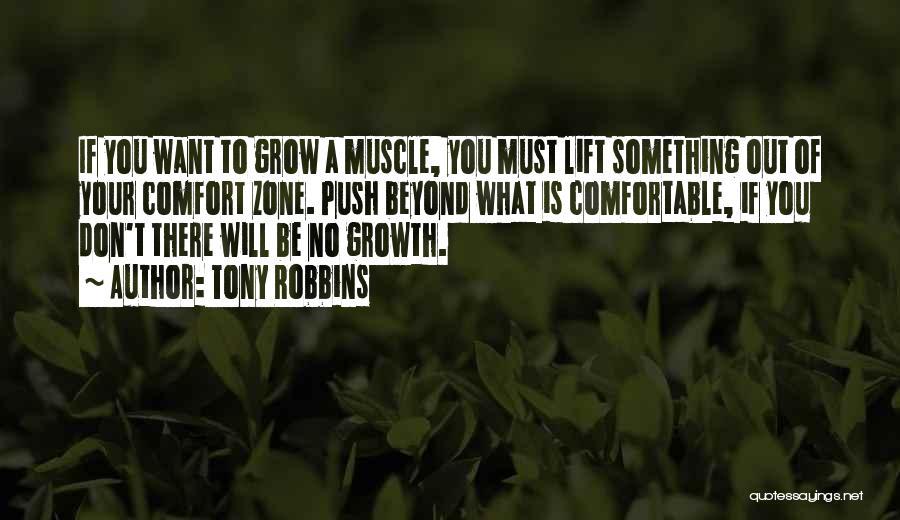 Self Push Quotes By Tony Robbins