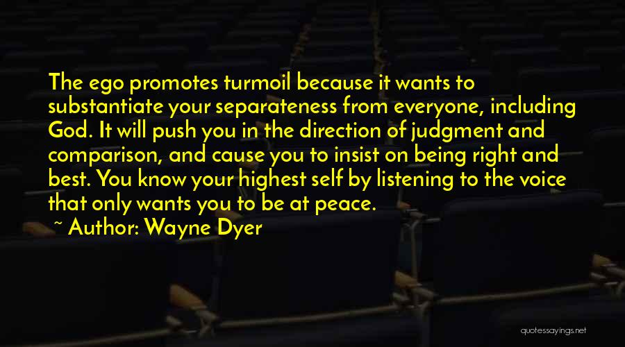 Self Push Quotes By Wayne Dyer
