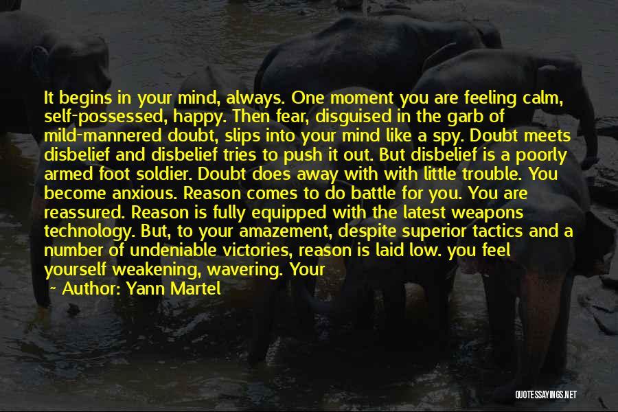 Self Push Quotes By Yann Martel