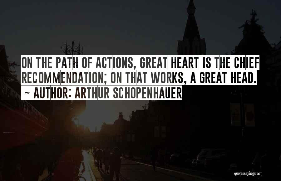 Self Recommendation Quotes By Arthur Schopenhauer
