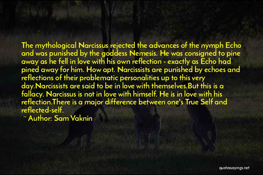 Self Reflections Quotes By Sam Vaknin
