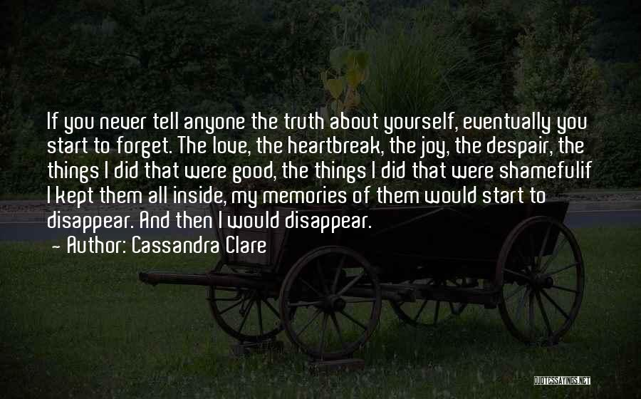Self-sacrificial Love Quotes By Cassandra Clare