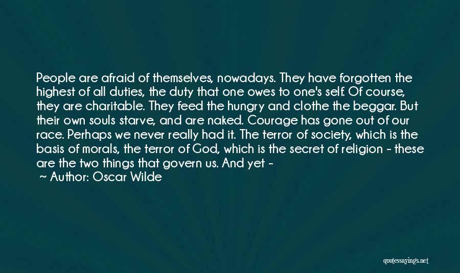Self-sacrificial Love Quotes By Oscar Wilde