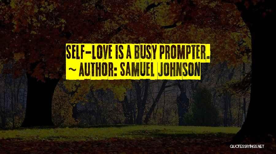 Self-sacrificial Love Quotes By Samuel Johnson