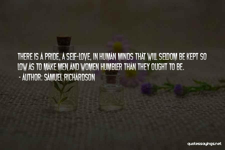 Self-sacrificial Love Quotes By Samuel Richardson