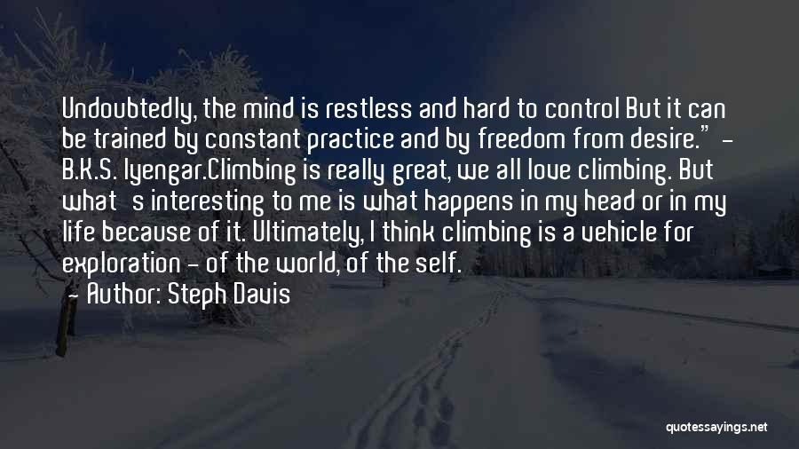 Self-sacrificial Love Quotes By Steph Davis