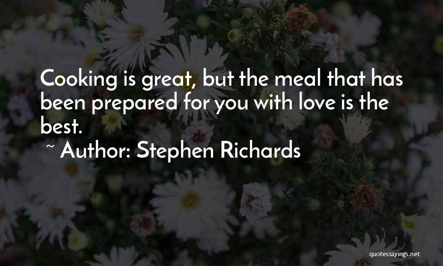 Self-sacrificial Love Quotes By Stephen Richards