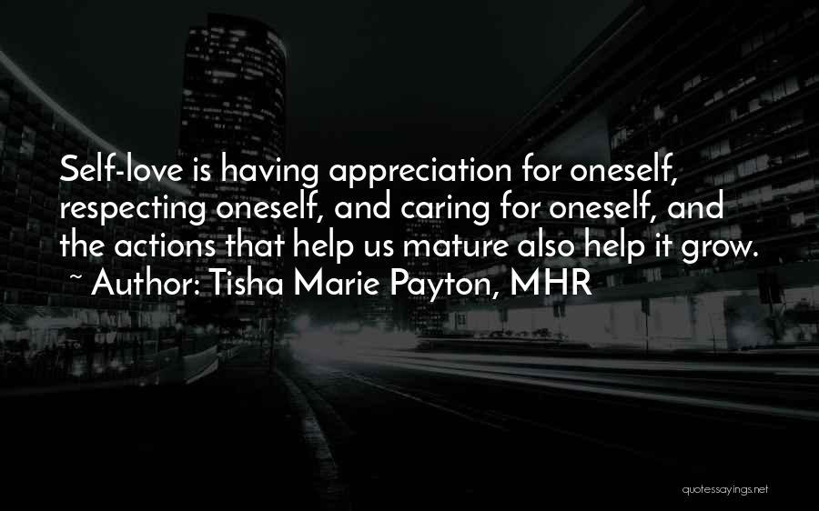 Self-sacrificial Love Quotes By Tisha Marie Payton, MHR