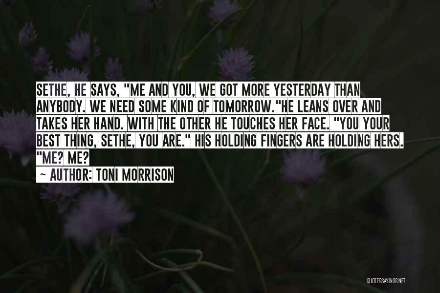 Self-sacrificial Love Quotes By Toni Morrison