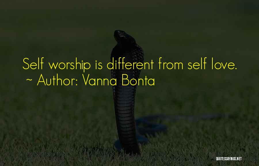 Self-sacrificial Love Quotes By Vanna Bonta