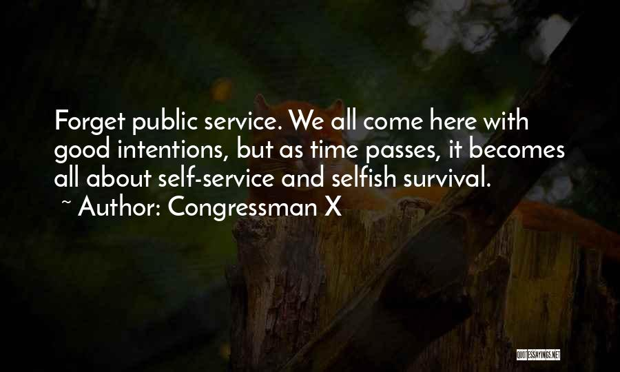 Self Service Quotes By Congressman X