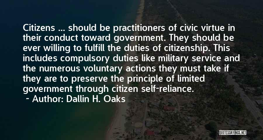 Self Service Quotes By Dallin H. Oaks