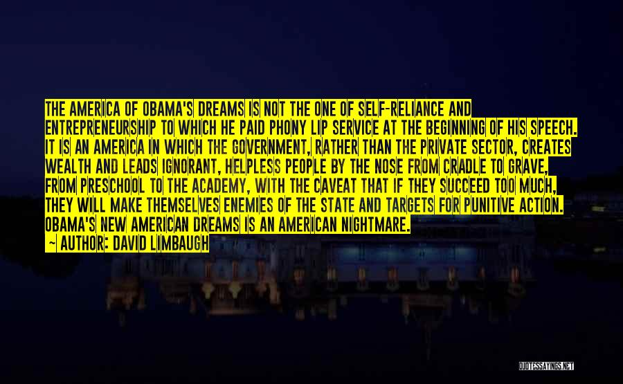 Self Service Quotes By David Limbaugh