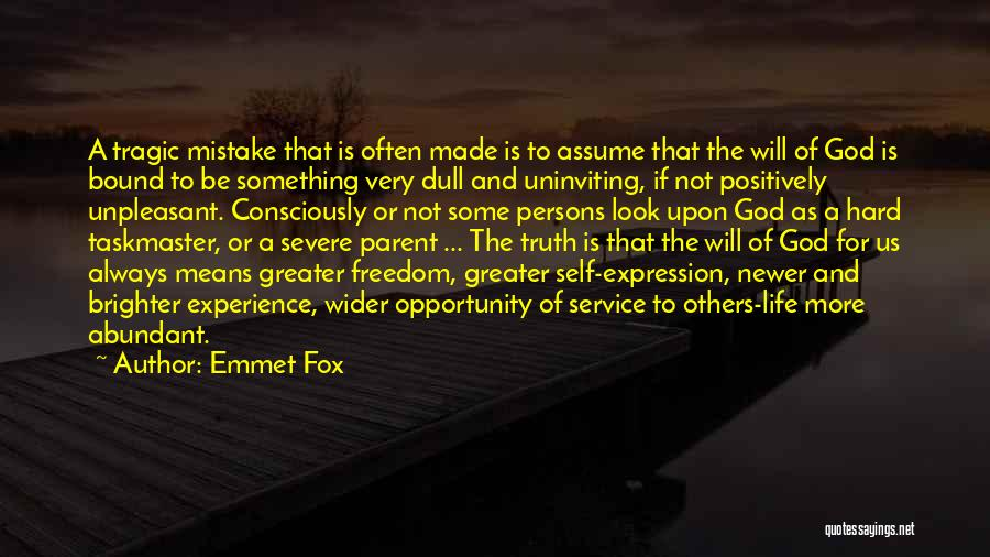 Self Service Quotes By Emmet Fox